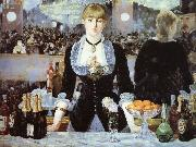 Edouard Manet Welfare - Bergeron Seoul Bar oil painting picture wholesale