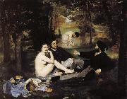 Edouard Manet Grass lunch oil painting picture wholesale
