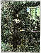Edwin Austin Abbey Anne Hutchinson on Trial oil