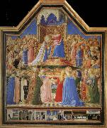 Fra Angelico Yan added the Virgin Festival oil painting picture wholesale