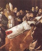 Francisco de Zurbaran The Lying-in-State of St Bonaventure oil painting picture wholesale