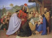 Friedrich overbeck adoration of the kings oil painting picture wholesale