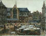 George Hendrik Breitner The Dam oil painting artist