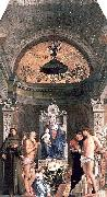 Giovanni Bellini San Giobbe Altarpiece oil painting picture wholesale