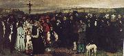 Gustave Courbet Ornans funeral oil painting picture wholesale