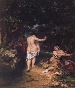 Gustave Courbet The bathers oil painting picture wholesale