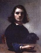 Gustave Courbet Self-Portrait oil painting