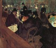 Henri de toulouse-lautrec Moulin Rouge oil painting picture wholesale