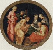 Jacopo Pontormo The birth of the Baptist oil painting picture wholesale