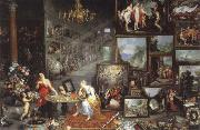 Jan Brueghel The Elder allegory of sight oil painting picture wholesale