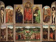 Jan Van Eyck Ghent Altarpiece oil painting picture wholesale