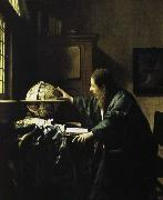 Jan Vermeer astronimen oil painting picture wholesale