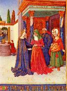 Jean Fouquet Livre d Heures oil painting picture wholesale