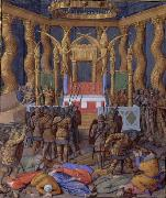 Jean Fouquet Pompey in the Temple of Jerusalem, by Jean Fouquet oil painting picture wholesale