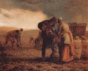 Jean Francois Millet Harvest oil painting picture wholesale