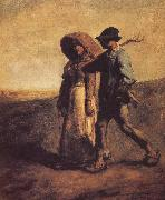 Jean Francois Millet Go to field oil painting picture wholesale