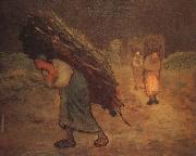 Jean Francois Millet Winter oil painting picture wholesale