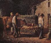 Jean Francois Millet Cow oil painting picture wholesale
