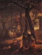 Jean Francois Millet Spring Grape garden oil painting picture wholesale