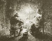 Jean Francois Millet Tonight oil painting picture wholesale