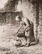 Jean Francois Millet Woman oil painting picture wholesale