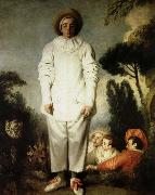 Jean antoine Watteau gilles oil painting picture wholesale