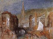 Joseph Mallord William Turner Hafulier oil painting reproduction