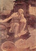 LEONARDO da Vinci Unfinished painting of St. Jerome in the Wilderness oil painting picture wholesale