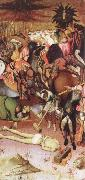 MARTORELL, Bernat (Bernardo) The Decapitation of St.George oil painting artist
