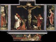 Matthias  Grunewald Yisenhaimu altar painting, Good Friday to map oil painting picture wholesale