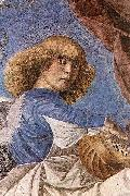 Melozzo da Forli One of Melozzo famous angels from the Basilica dei Santi Apostoli oil painting picture wholesale