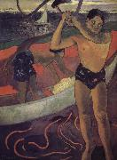 Paul Gauguin Helena ax man oil painting picture wholesale