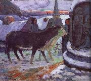 Paul Gauguin Christmas Eve oil painting picture wholesale
