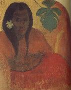 Paul Gauguin Tahitian woman oil painting picture wholesale