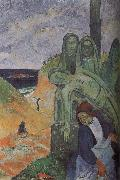 Paul Gauguin Green Christ Spain oil painting artist