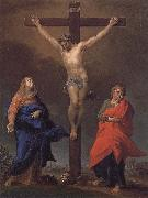 Pompeo Batoni The Cross of Christ, the Virgin and St. John s Evangelical oil painting picture wholesale