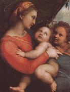 RAFFAELLO Sanzio The virgin mary and younger John oil painting picture wholesale