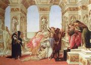 Sandro Botticelli calumny of apelles oil painting picture wholesale