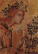 Simone Martini angeln gabriel, bebadelsen oil painting picture wholesale