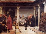 Sir Lawrence Alma-Tadema,OM.RA,RWS The Education of the Children of Clovis oil painting picture wholesale