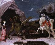 UCCELLO, Paolo sankt goran och draken oil painting picture wholesale