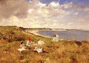 William Merritt Chase Idle Hours oil painting picture wholesale