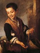Bartolome Esteban Murillo Juvenile and Dogs Spain oil painting reproduction