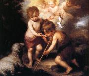 Bartolome Esteban Murillo Shell and the children Spain oil painting reproduction