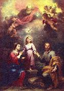 Bartolome Esteban Murillo Two Trinities oil painting picture wholesale