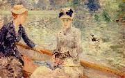 Berthe Morisot Summer Day National Gallery oil painting picture wholesale