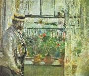 Berthe Morisot Eugene Manet on the Isle of Wight oil painting picture wholesale
