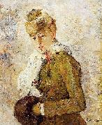 Berthe Morisot Winter aka Woman with a Muff, oil painting picture wholesale