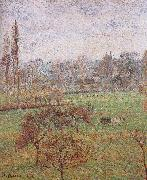 Camille Pissarro autumn morning oil painting picture wholesale