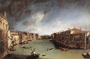 Canaletto Grand Canal Spain oil painting artist